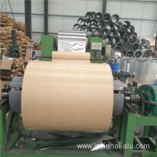 Kraft Paper Coated Aluminum Coil with self-adhesive paper
